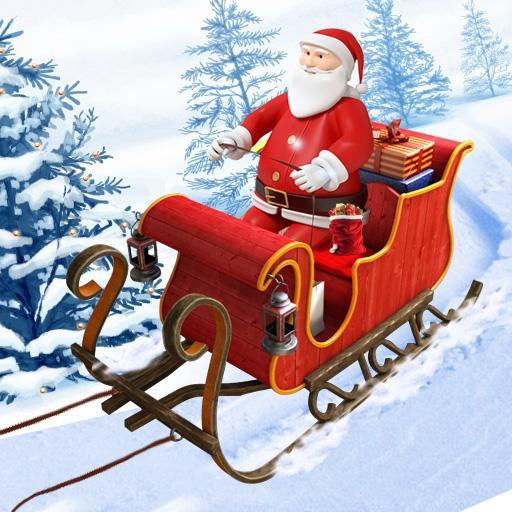 Santa Christmas Gift Cart Free (game)