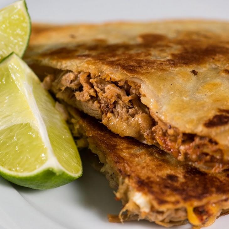 Pulled Pork Quesadillas Recipe | Yummly