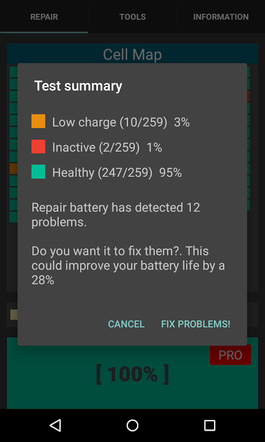 Repair Battery Life PRO Screenshot 5