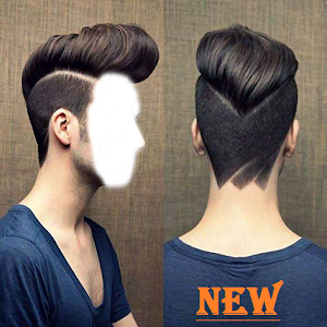 Men Hairstyles Photo Frame