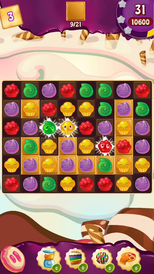 Cupcake Smash: Cookie Charms Screenshot 11