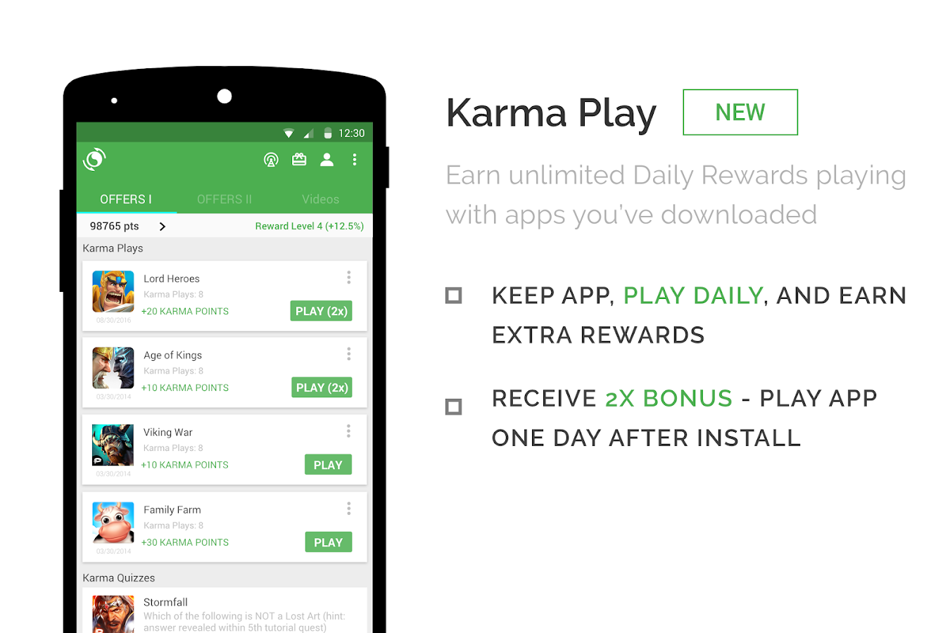 appKarma Rewards & Gift Cards Screenshot 1