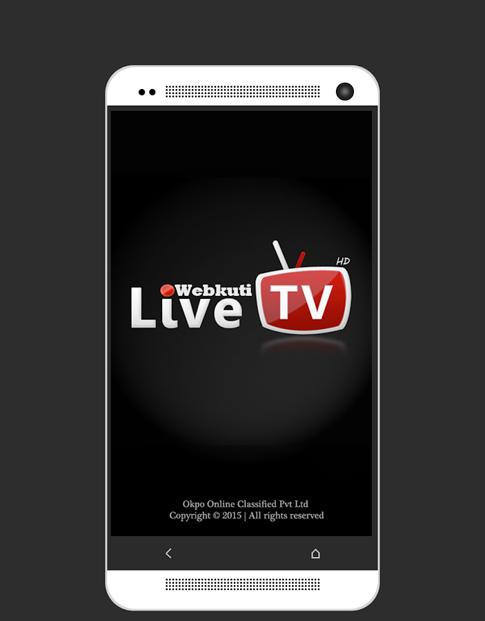 Live TV: Mobile TV, Movie & TV Screenshot 0