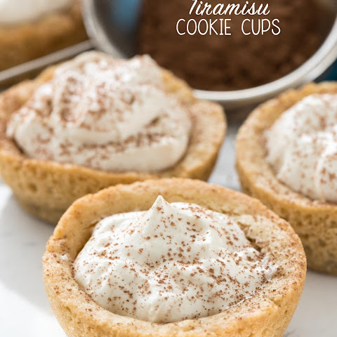 Tiramisu Cookie Cups