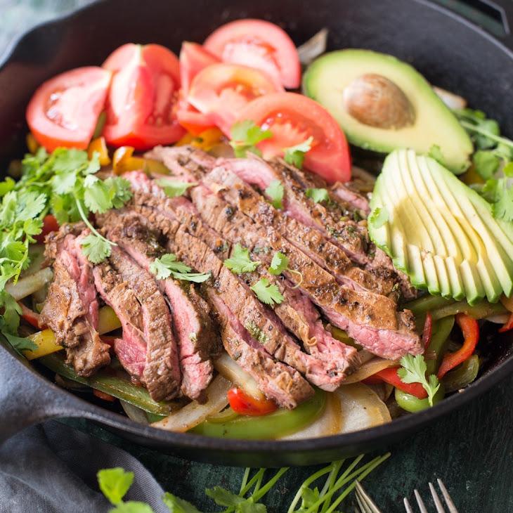 Skirt Steak Fajitas Recipe | Yummly