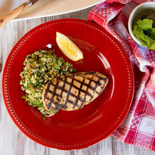 Lemon Basil Grilled Chicken Breasts