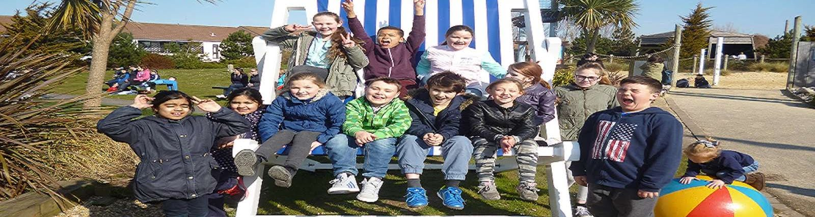 Young Carers on a trip to Butlins
