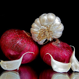 Onion-garlic by Asif Bora - Food & Drink Ingredients