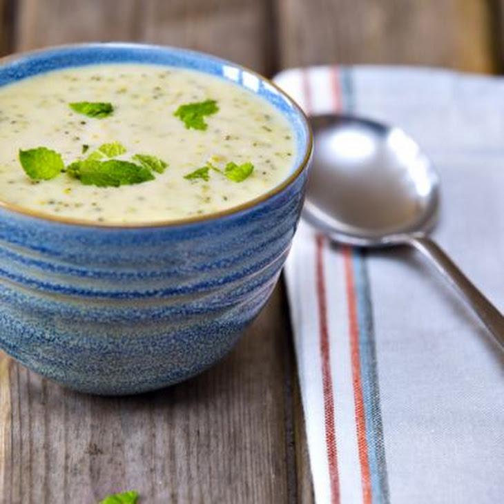 Easy Cheesy Broccoli Soup Recipe | Yummly