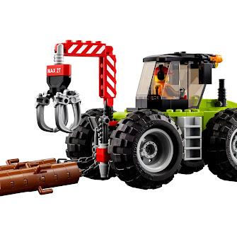 Лесоповальный трактор