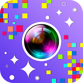 Glixel - Glitter and Pixel Effects Photo Editor