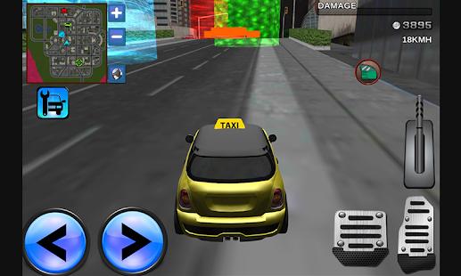 taxi 3d city mania conduite apk 1 1 jeux de course gratuits pour android. Black Bedroom Furniture Sets. Home Design Ideas