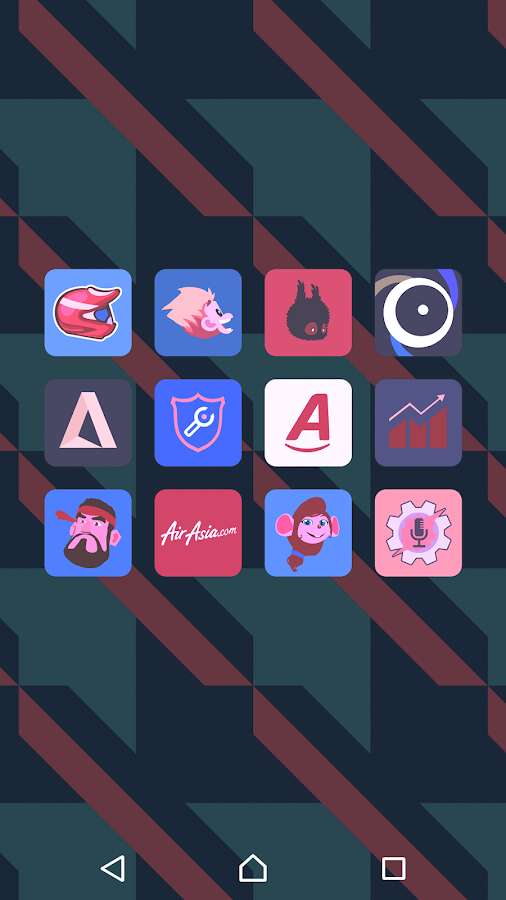 Teron - Icon Pack Screenshot 5