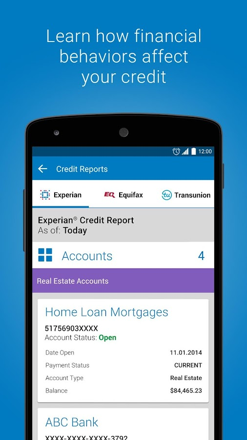 Experian - Free Credit Report Screenshot 3