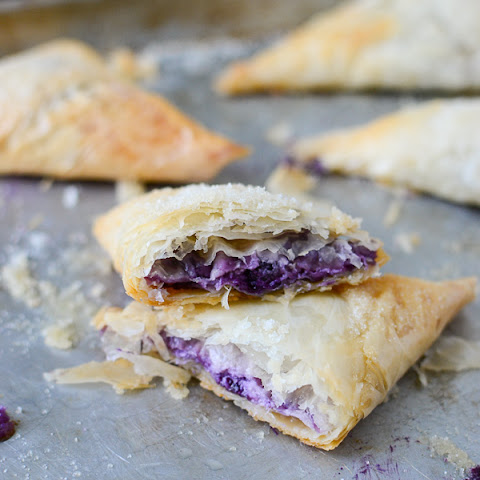Blueberry Phyllo Dough Turnovers