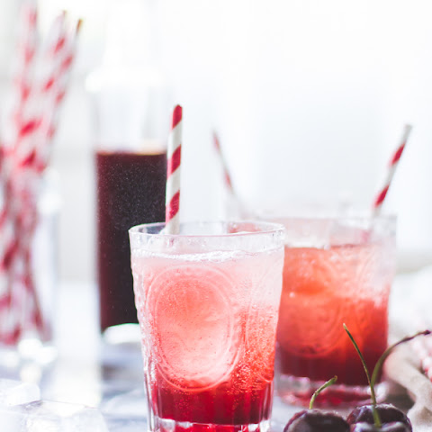 Cherry Vanilla Maple Shrub {Drinking Vinegar}