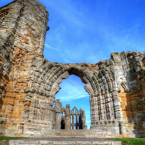 whitby abbey by Gokhan Bayraktar - Buildings & Architecture Public & Historical ( whitby, historical, public, abbey )