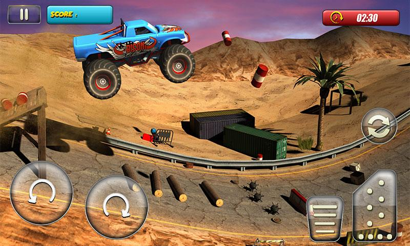 Monster Truck Rider 3D Screenshot 1