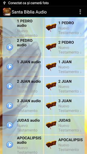 Spanish Bible Audio screenshot 7