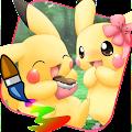 Coloring for Pikuchu Monsters