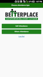 BetterPlace Attendance App - screenshot