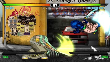 Screenshot of Slashers: Intense 2D Fighting