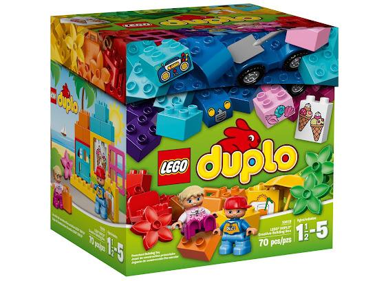 Шкатулка LEGO DUPLO для творческого конструирования