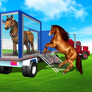 Farm Animal Transport Truck Driving Games: Offroad For PC / Windows 7/8/10 / Mac – Free Download