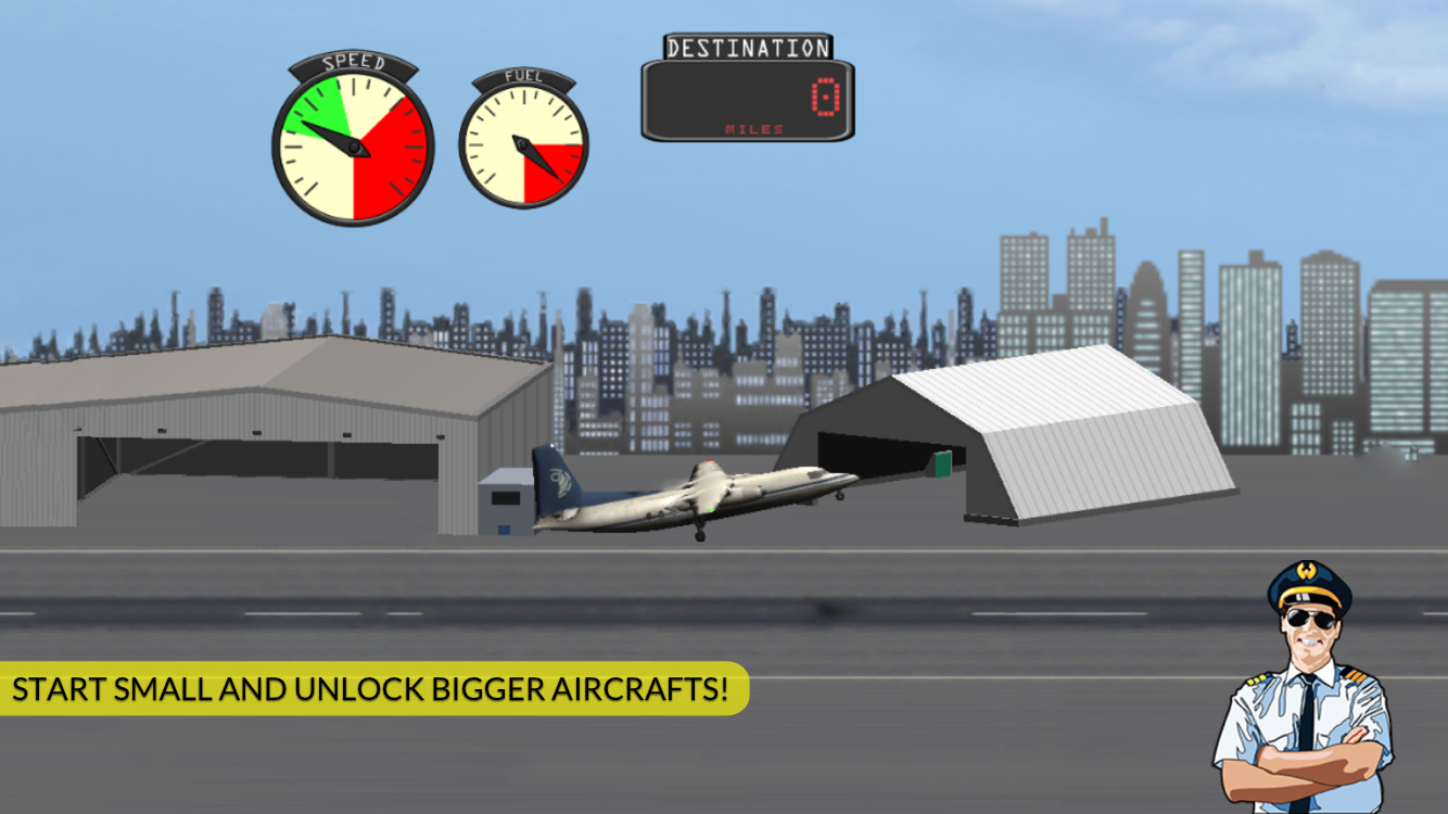 Transporter Flight Simulator ✈ Screenshot 2