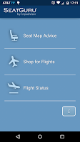 Screenshot of SeatGuru: Maps+Flights+Tracker