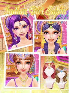 Indian Girl Salon-girls games- screenshot thumbnail