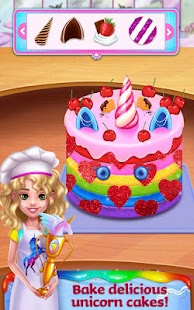 Unicorn Food - Rainbow Glitter Food & Fashion for pc