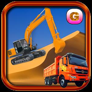 Cover art Sand Excavator Simulator 2016