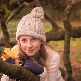 Autumn stourhead  by Mark Rigby - Babies & Children Child Portraits
