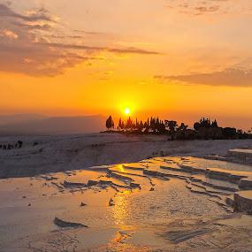 Pamukkale, Turkey by Nikos Pa - Landscapes Sunsets & Sunrises