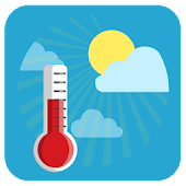 Ambient Temperature Thermometer Icon