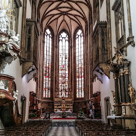 Brno by Adam Lang - Instagram & Mobile Android ( brno, church, cathedral )