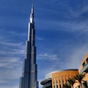 Burj Khalifa  by Anthony Lawrence Gampon - Buildings & Architecture Other Exteriors ( tallest structure )