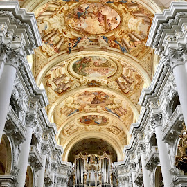 St. Florian by Timothy Carney - Buildings & Architecture Places of Worship ( organ, abbey, baroque, st. florian, church, austria, linz )
