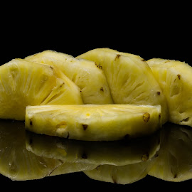 pineapple slices by Shajin Nambiar - Food & Drink Fruits & Vegetables