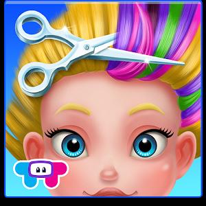 Cover art Crazy Hair Salon-Girl Makeover