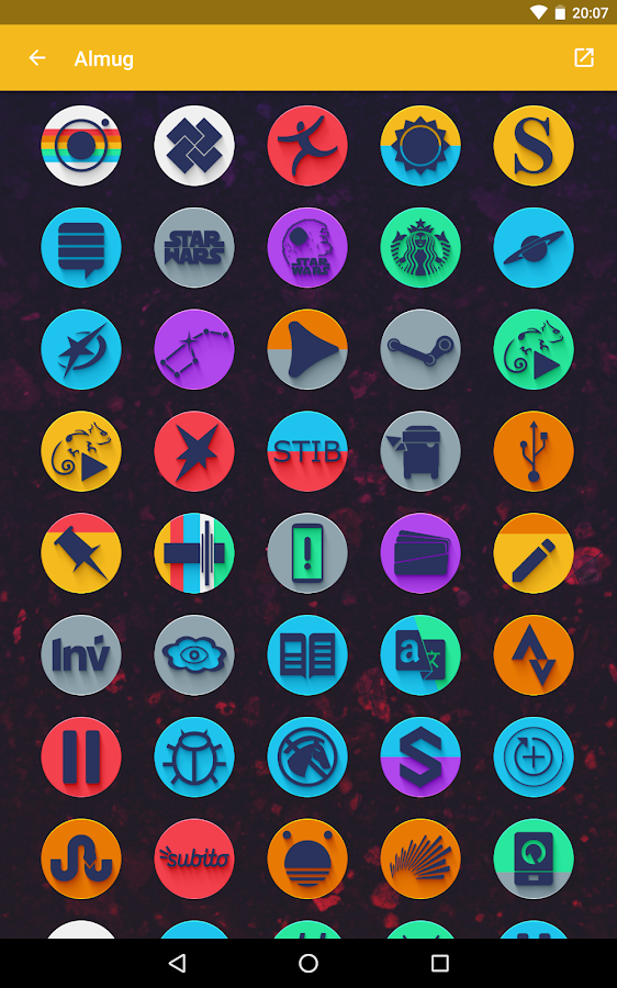 Almug - Icon Pack Screenshot 15