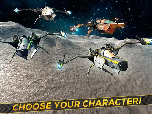 Space Craft Galactic Wars 3D - screenshot