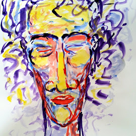 MToldi acrylic 17  by Marcello Toldi - Painting All Painting