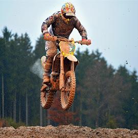 Motocross Jump by Marco Bertamé - Sports & Fitness Motorsports