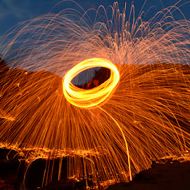 Steelwool by Widia Widana - Abstract Light Painting