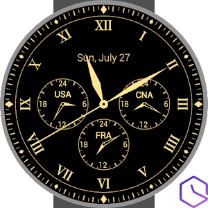 Watch Face - Timezone