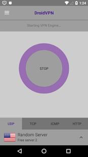 App DroidVPN - Android VPN version 2015 APK