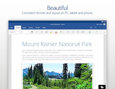 Microsoft Word- screenshot thumbnail