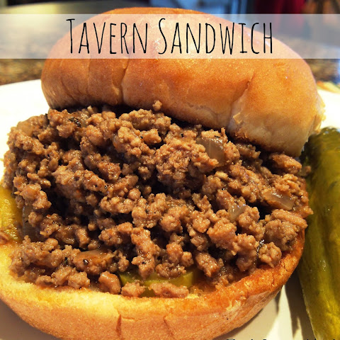 Tavern Sandwich {a.k.a. Loose Meat Sandwich}